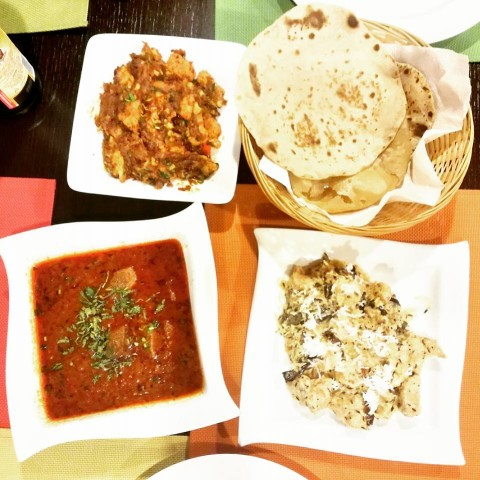 Thali Veggie India (ENG/SK)