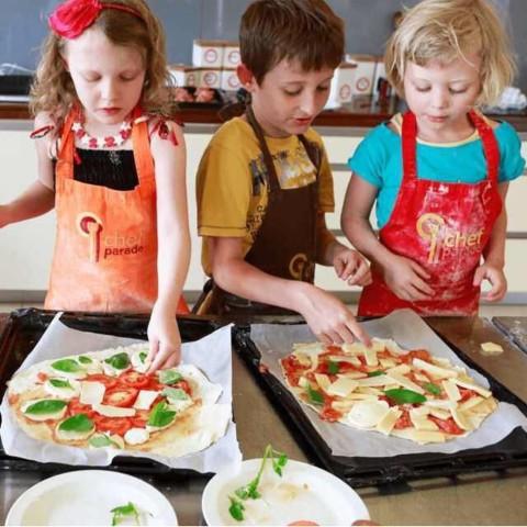 Malí talianski kuchárikovia