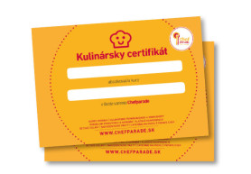 Kulinársky certifikát